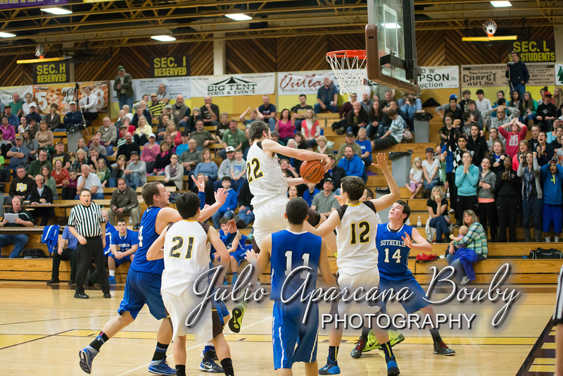 NBHS Boys Basketball vs Sutherlin - 0423