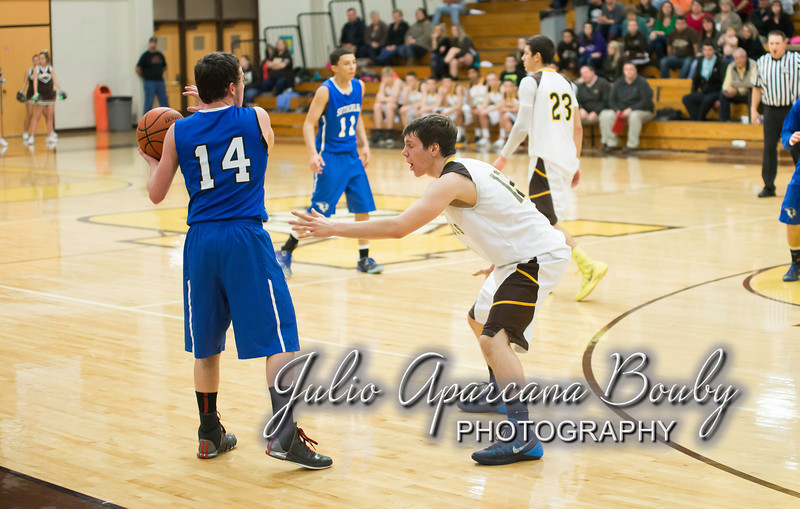 NBHS Boys Basketball vs Sutherlin - 0430