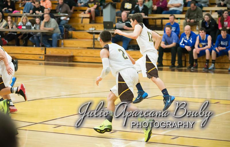 NBHS Boys Basketball vs Sutherlin - 0355