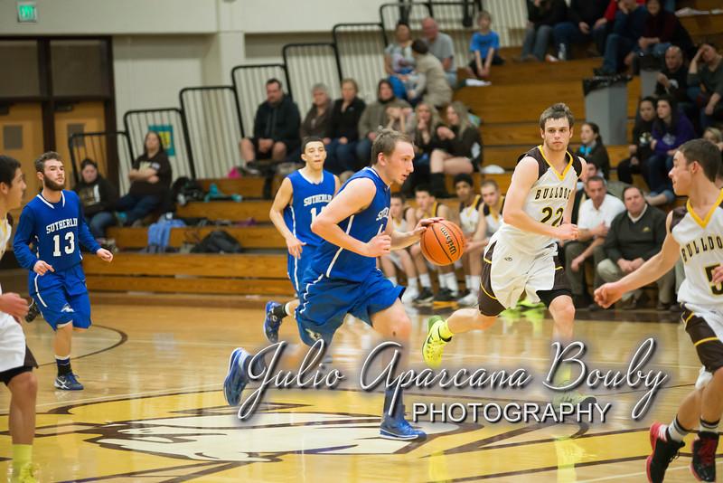 NBHS Boys Basketball vs Sutherlin - 0382