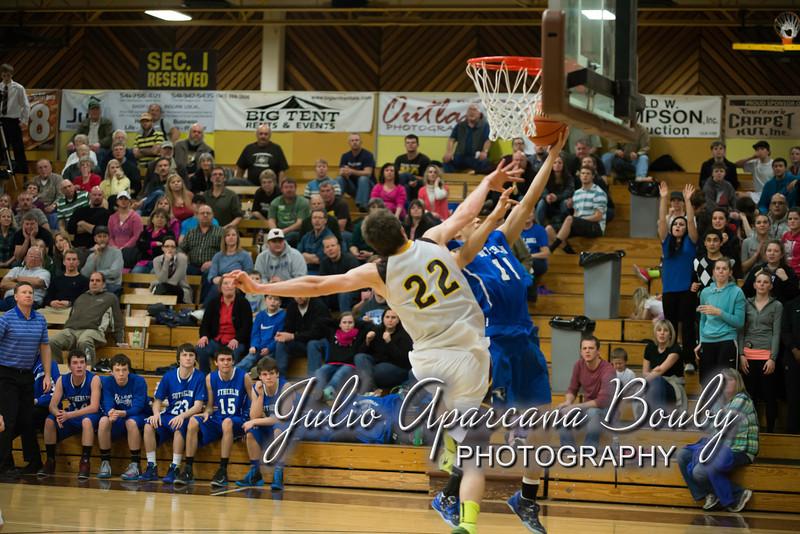NBHS Boys Basketball vs Sutherlin - 0455