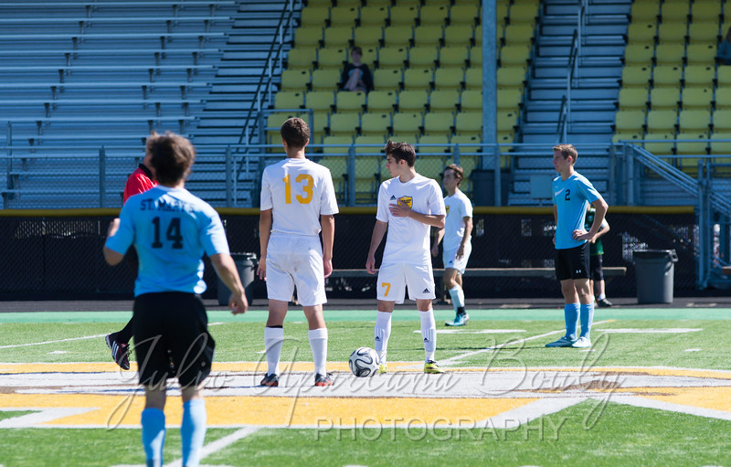 NBHS Boys Soccer vs St Mary's HS - 0001