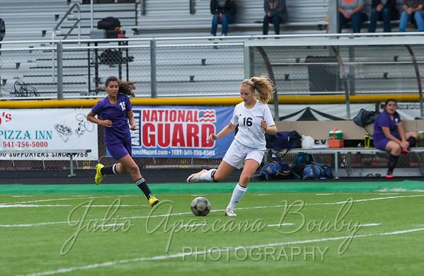 NBHS Girls Soccer vs MHS - 0127