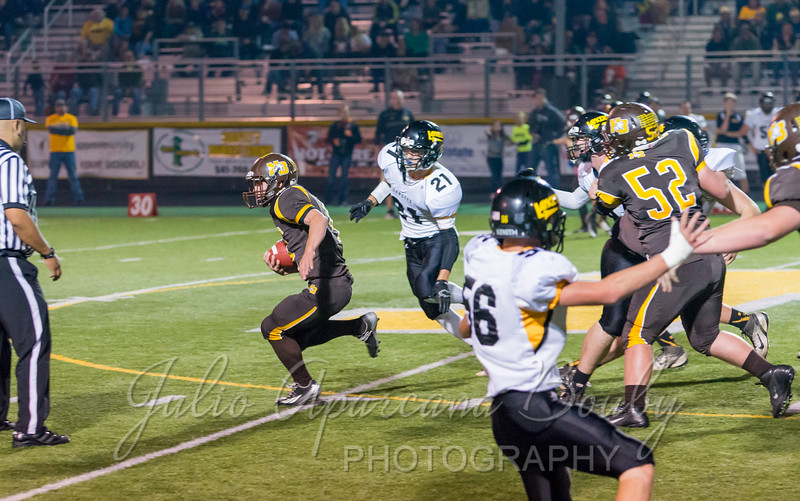 North Bend High School Football - 0448