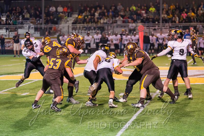 North Bend High School Football - 0439