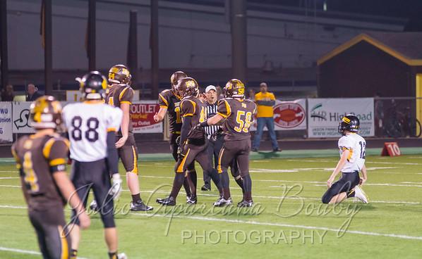 North Bend High School Football - 0724
