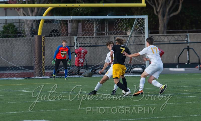 NBHS Boys Soccer - 0334