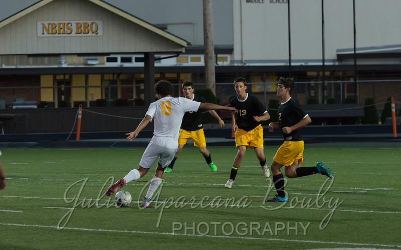 NBHS Boys Soccer - 0425