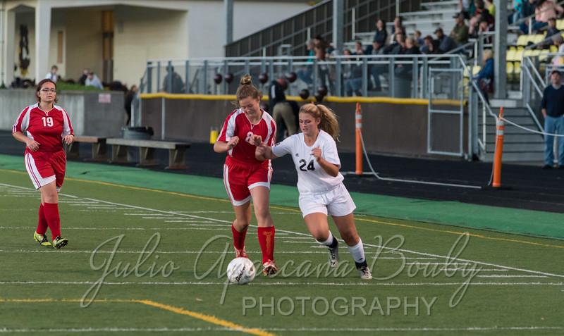 NBHS Girls Soccer - 0425