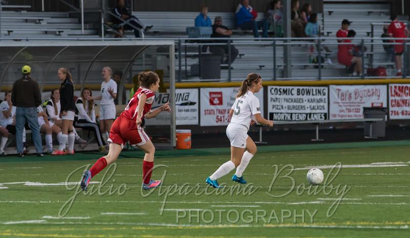 NBHS Girls Soccer - 0421