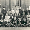 Mrs. Connell's 3rd grade class, Feb 2, 1954<br /> Back row, left to right: J. L. Sutton, Lewis Taylor, Teddy Arnold, Mary Ellen Gray, Helen Bennett, Pauline Powell, Johnny Futch, Riley O'Berry, Donald Exum, Virgil Young.<br /> Second row, left to right: Vivian Moats, Betty Jean Fender, Irene McNeal, Barbara Warren, Patricia Hall, Joye Schwartz, Patsy McGill, Leona Griner, Bonnie Rowe.<br /> Front row, left to right: James Smith, Bobby Gene Griffin, Herman Harper, Charles Manheart, Ernie Lewis, J. B. Cook, ______ Thomas.<br /> Photo courtesy Leona Griner
