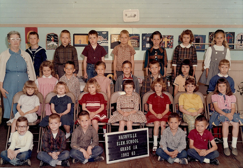Nashville Elementary 1962-63_Grade  1_Mrs Eunice Johnson