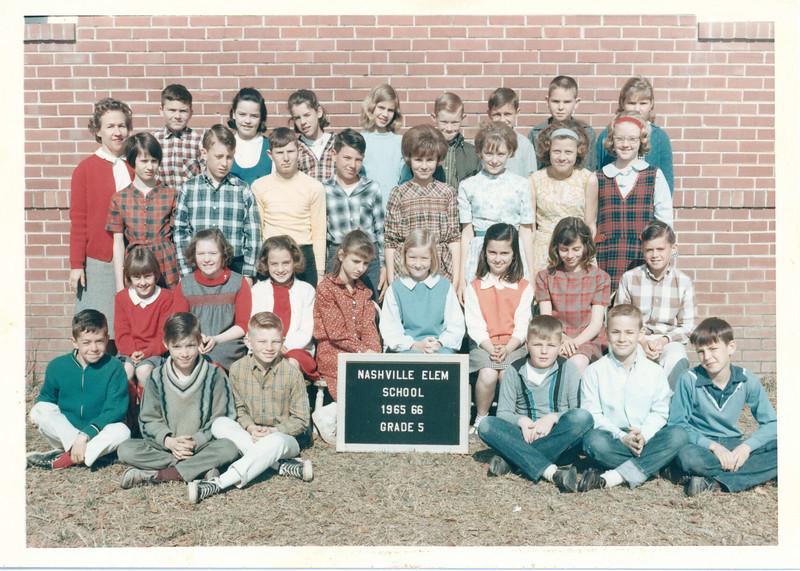 1965-66 NES 5th Grade