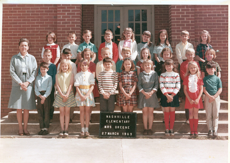 1968-69 Mrs. Greene's Class