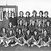 1968-69 NES Girls Basketball Team<br /> Coach Don Bridges