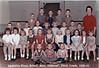 NES 1960-61 Grade 1 Mrs Giddens<br /> 1st Row L-R: Timothy Tygart, Wayne Fuller, Hank Hobbs; 2nd Row: Alice Patten, Barbara Mathis, Cathy Watson, Durinda Futch, Patrician Ann Stone, Gerladine Griffin, Freida Ann Burke, Debbie Register, Sandra Rowe, Judy McGee, Pauline Griffin; 3rd Row: Louie Roe, Randy Crosby, Al Browning, Redith Kirkland, Deborah Ann Swain, Kay Smith, Judy McNabb, Paul Lindley, Danny Griffin, Mrs. Giddens; 4th Row: Eugene Reid, Eale Wayne Breazelle, Roger Lott, Jerrry Baldree, Larry ?