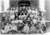 Nashville Elementary, Mrs. Holston's 7th Grade Class, 1949-50<br /> 1st Row: Leroy Durrance, Tillman Browning, L. C. Cook, Cecil Powers, Kenneth Davis, Roy Guthrie<br /> 2nd Row: Pete Franklin, Juanelle Exum, Anita Stevens, Joyce Ann Brinson, Faye Young, Jane Tye, JoAnn  Register, Barbara Alexander, Betty Jean Mathis, Charles Waller, Jerry Miller<br /> 3rd Row: Kennth McClendon, Buddy Hunt (also known as E. C. Clements) Jerry Shaw, Alton Booth, Doris Brown, Bobby Joe Giddens, A.W. Sims, John Henry Schofield, Tommy Freeman,Johnny Griffen, Mrs. Holston<br /> 4th Row: Ethel Lynch, Virginia Harper, Margaret Parramore, Robert Blount, Jack Kent, Frances Gray, Wyman Royals, J. H. Exum, Nancy Morris, Norma Ann Mathis, Nancy Nix<br /> Photo courtesy of Frances Gray Plair