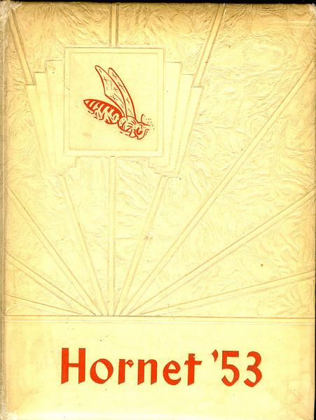 Nashville High School Hornet, 1952-53