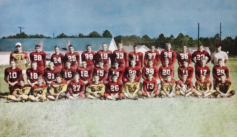 1952 Nashville High School Football Team