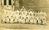 Nashville Public School Class circa 1911.<br /> Identified are: Shine Anderson, 2nd row, 4th from left; Floy Taylor, 3rd row, 4th from right. Other identifications requested.<br /> (Courtesy of Zona McGuirt, daughter of Buoie and Floy (Taylor) Bennett)