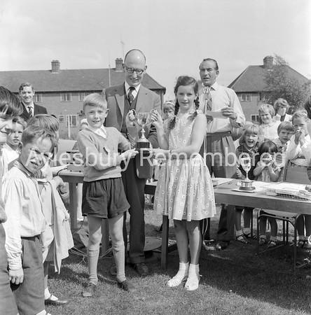 Oak Green County Junior School sports, June 1963