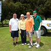 Frank Montejano, Golf Tournament Chair Mindy Dwyer, Sean Dwyer, Ryan Fridborg