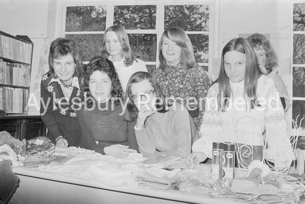 Save the Children Fund bazaar at Prebendal School, Nov 1973