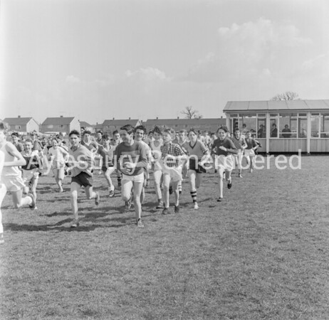 Quarrendon County Secondary School, April 9th 1962
