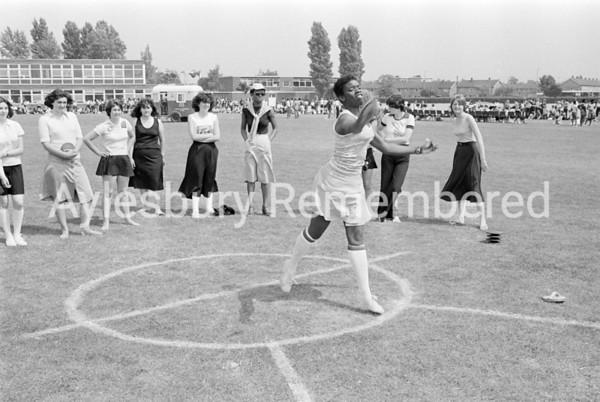Quarrendon County Secondary School sports, June 1978