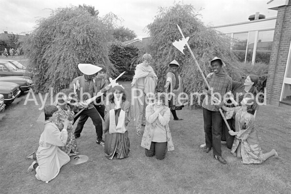 Quarrendon County Secondary School drama, July 1981