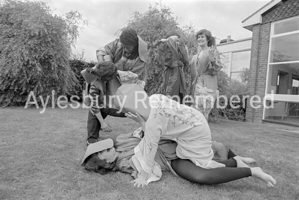 Quarrendon County Secondary School drama, July 1981
