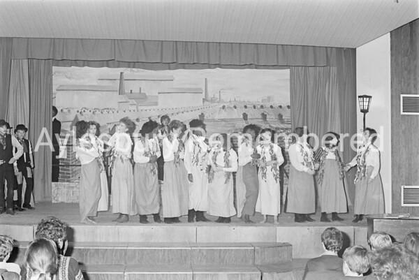 Match Girls play, Dec 1984