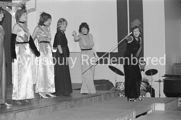 Oh! What A Lovely War play at Quarrendon County Secondary School, Dec 1980