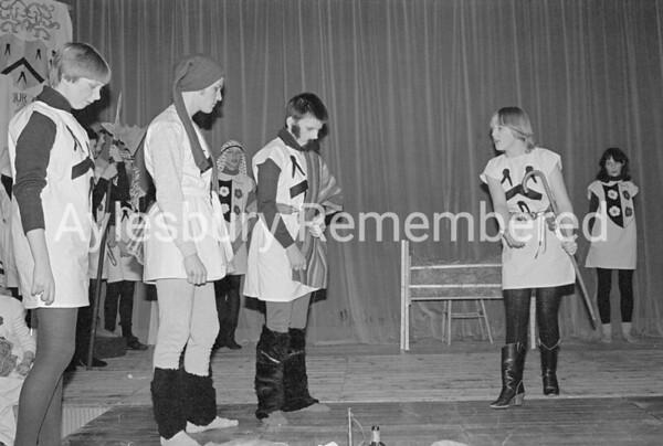 A Pageant For Xmas play at Quarrendon School, Dec 1981