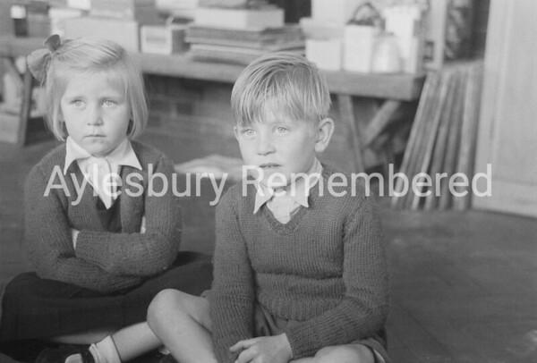 Queens Park Infant School, Oct 1955