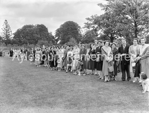 Queens Park Infant School sports, June 28 1956