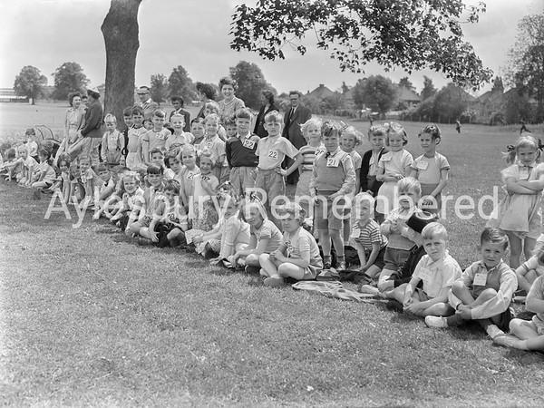 Queens Park Infant School sports, June 28 1956