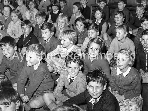 Queens Park School carols, Dec 11 1957