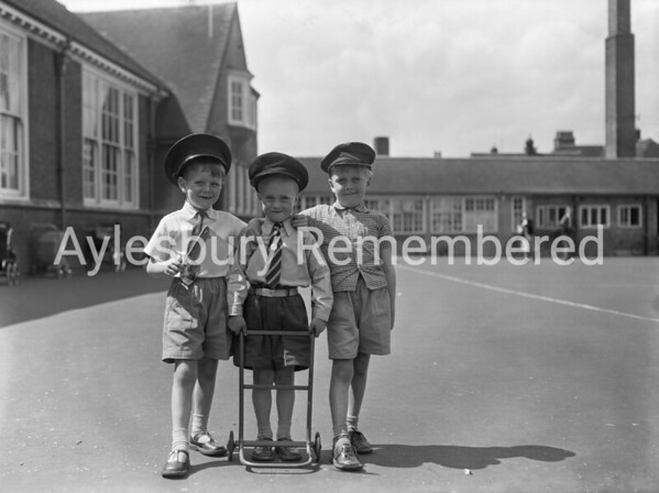 Queens Park School open day, July 1956