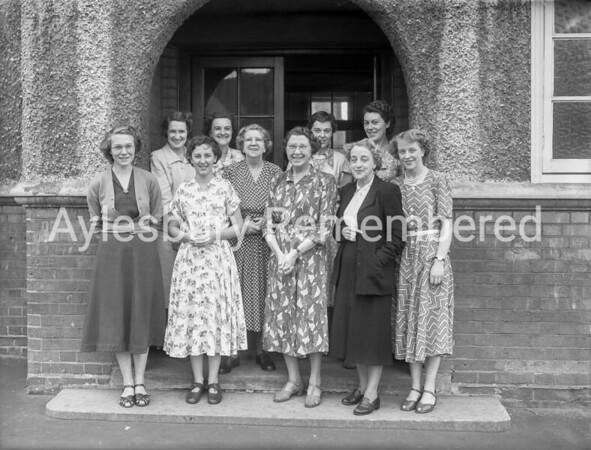 Queens Park School teachers, July 1952