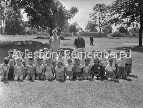 Queens Park School sports, June 22 1957