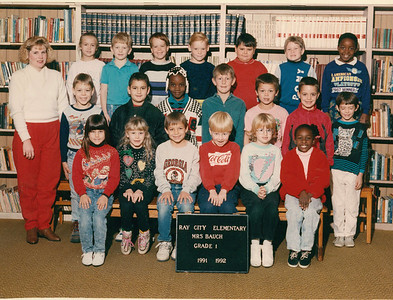 Ray City Elementary School - 1991-92