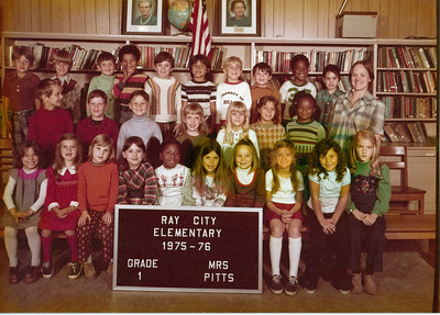 Ray City Elementary School - 1975-76
