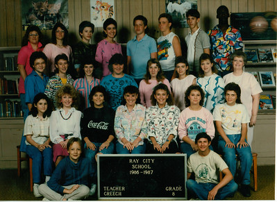 Ray City Elementary School - 1986-87