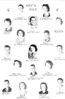 Ray City School, 1950-51, Who's Who.