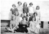 Ray City School, 1950-51, Junior Girl's Basketball.<br /> Identifications needed.
