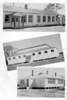 Ray City School, 1952-53, School Buildings and Gymnasium