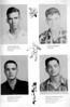 Ray City School, 1952-53, Seniors, James Williams, Eugene Johnson, Brooker Fountain, Charles Donald Allen.