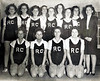 Unidentified Ray City girls basketball team. Identifications needed.