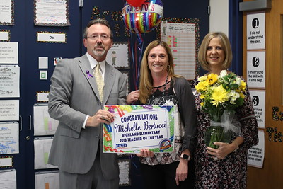 Superintendent Surprises Richland Elementary Teacher of the Year